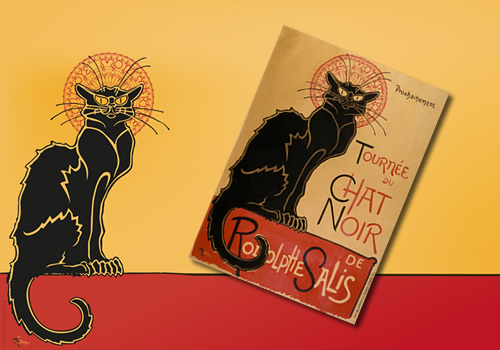 Le Chat Noir - The black cat