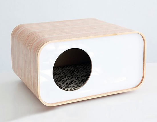 pretty design modern cat bed. modern design cat house Designer kitty beds and houses  Cats Around The Globe