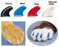 The soft claws / soft paws is a much better alternative to declawing